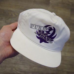 VINTAGE Hank Williams Jr. PURE HANK Hat Snapback